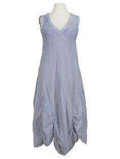 Damen Baumwollkleid, blau von Montan bei www.meinkleidchen.de