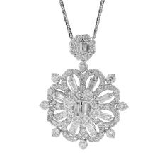 Uniquepedia.com - 2.58ct 18k White Gold Diamond Pendant Necklace, $3,432.00 (http://www.uniquepedia.com/2-58ct-18k-white-gold-diamond-pendant-necklace/)