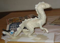 Paper Mache Dragon, great website for paper mache
