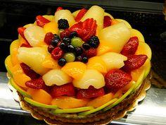 Fruit Tart Cake from PORTO's Bakery
