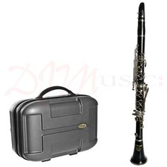 Stagg 17 Key Bb Clarinet & Hard Case - The Stagg 17 Key Bb clarinet outfit is a good choice for beginners on a budget who require a starter clarinet where there is uncertainty if the student will or will not take to the instrument or keep up playing long-term.