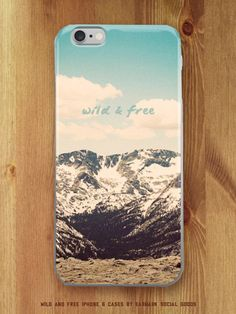 Do you love a good road trip? How about exploring new places every day? Our Wild and Free iPhone 6 case is perfect for any adventurer. The simple typography pairs nicely with the vintage-inspired edit Galaxy S3, Free Iphone Cases, Gif Disney, Diy Nail Polish, Video Pink, 2017 Images, Wild And Free, Phone Covers, So Little Time