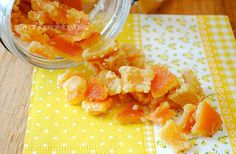 caramelle di scorza d'arancia