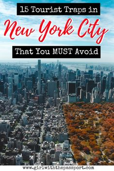If you are planning some New York City travel, then I bet you are looking for some great New York City things to do. Well, this article will detail all the New York City tourist traps that many tourists fall for on their New York City vacation.