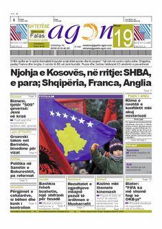 Agon (2007-2013), Tirana (Albania) Tirana Albania, Newspaper Cover, Free
