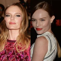 Kate Bosworth Goes Ombré adore image on left. Need this colour - Modern Balliage Hair, Two Toned Hair, Kate Bosworth, Hue, Colour, Modern, Color, Trendy Tree, Colors
