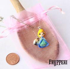 Mini Cenerentola #fimo #handmade #disney #principesse #cenerentola #cinderella www.frypperi.it www.facebook.com/frypperi