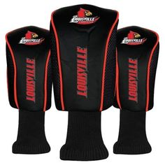 Louisville Cardinals McArthur 3-Pack Golf Club Headcovers