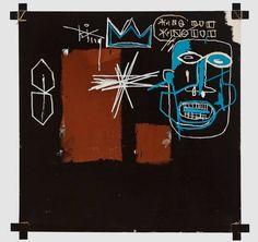 Tableaux sur toile, reproduction de Basquiat, Kings Of Egypt III - Rois de l'égypte III - 1982