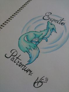 harry potter tattoo expecto patronum - Google Search