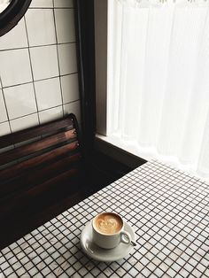 Vintage Décor Inspiration at Hillside Farmacy Coffee Is Life, I Love Coffee, Coffee Break, Morning Coffee, But First Coffee, Latte Art, Vintage Decor, Decoration, Coffee Cups