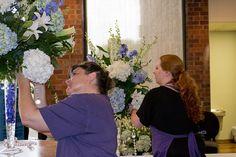 Twinbrook Floral Design Blue Wedding Arrangements, Floral Design, Floral Patterns