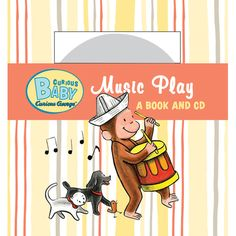 Curious George: Curious Baby Music Play Board Book with CD