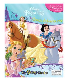This Disney Princess Great Adventure My Busy Book & Figurine Set is perfect…