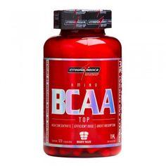 BCAA Top é um suplemento à base de aminoácidos de cadeia ramificada leucina, isoleucina e valina (o termo BCAA vem das inicias destes três nomes em inglês).Estes aminoácidos devem ser adquiridos pelo organismo por meio da alimentação ou suplementação, já que não são produzidos naturalmente pelo mesmo.
