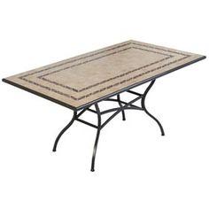 GIJÓN GRANDE Outdoor Furniture, Outdoor Decor, Merlin, Grande, Table, Home Decor, Ideas, Metal Tables, Courtyards