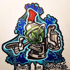 Resultado de imagen para graffiti characters gangster