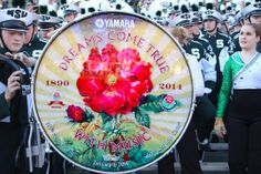 MSU Spartan Marching Band, 100th Rose Bowl Game, 01/01/2014