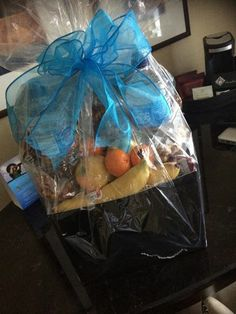 healthy gift basket :)