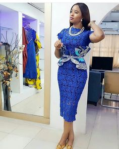African lace dresses - 30 African Dresses 2019 Designs The Most Gorgeous Styles You Must Try – African lace dresses Nigerian Lace Styles Dress, Lace Gown Styles, Aso Ebi Lace Styles, African Lace Styles, African Lace Dresses, Blouse Styles, Ankara Styles, African Blouses, African Fashion Ankara