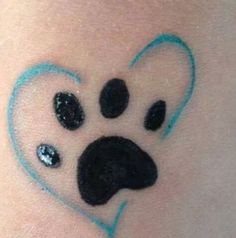 1000+ ideas about Paw Tattoos on Pinterest | Paw print tattoos ...