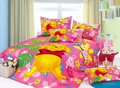Winnie the Pooh Bedroom | Pink Winnie the Pooh Bedding Dream