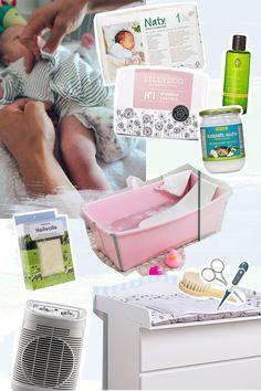 Erstausstattung für die Baby Pflege | Baden | Wickeln | Körperpflege | ivy.li