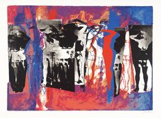 John Piper, 1972, Eye and Camera: Multifigure, screenprint on paper, 483 x 698 mm.