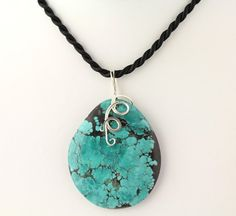 Chinese Turquoise Pendant Listing 99480218 by Ptcreationsjewelry, $35.00 // turquise is always beautiful. jvb.