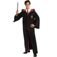 Gryffindor Adult Deluxe Robe from HarryPotterShop.com