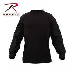 Rothco  Military Combat Shirt Size:Small R90010 Black