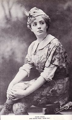Nina Boucicault, the first to play the title role in J. M. Barrie's Peter Pan