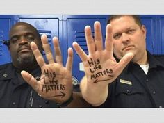 'His Life Matters' Photo of Trinity, Texas Cops Goes Viral -
