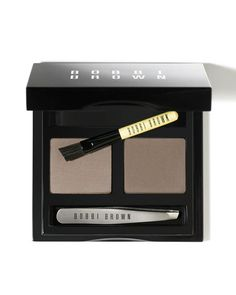 Bobbi Brown // Brow Kit - $45.00 at http://www.bobbibrowncosmetics.com/product/2327/21880/Makeup/Eyes/Brows/Dark-Brow-Kit/SS12/index.tmpl