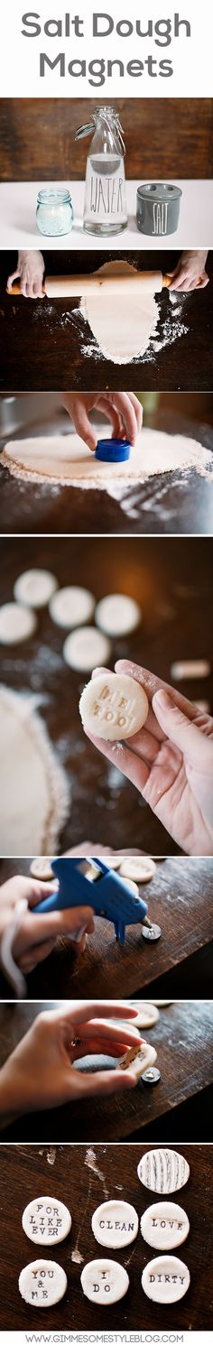 Salt Dough Magnets | gimmesomestyleblog.com