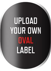 site for beer labels - Upload Your Own Oval Label with Necker Template