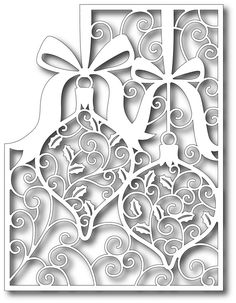 Tutti Designs - Cutting Die - Ornaments Panel,$12.99