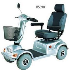 HS 890 4 wheel scooter