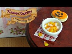 Tiny Candy Corn (Edible) - Kawaii Cooking - a tiny cooking show - YouTube