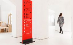 Way finding and signage designed by Bond for for Helsinki's Design Museum – Designmuseo
