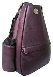 salesSlamGlam - Life Is Tennis JetPac Plum Convertible Small Tennis Sling Backpack.  Beautiful Plum Tennis Bag Coming Soon