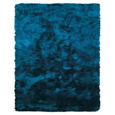 The Conestoga Trading Co. Mckee Hand-Tufted Teal Blue Area Rug Rug Size: Runner x Flokati Rugs, Shag Rugs, Blue Shag Rug, Textured Carpet, Blue Carpet, Teal Area Rug, Accent Rugs, Teal Blue