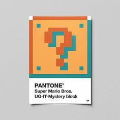 PANTONE Super Mario Bros. UG-IT-Mystery block  #colorful #pantone #design #nerd #artwork #graphic #photoshop #graphicdesign #supermario #videogames #pixel #illustrator #color #vector #creative #geek #art #games #work #graphicdesigner #myart #artist #graphicdesigncentral #creative #artistic #colour #mario #simplycooldesign #designsheriff #graphicdesigncentral @pantone @nintendo @adobecreativecloud