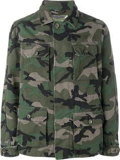 VALENTINO Camouflage Military Jacket. #valentino #cloth #jacket