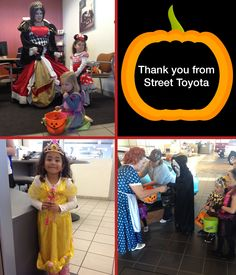 We had a great time with all our trick-or-treaters at Street Toyota! We enjoyed being a part of their Halloween!