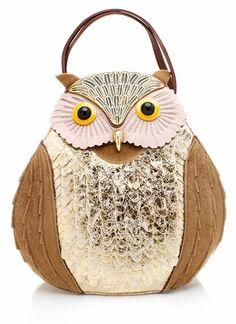 Metallic Owl Purse So Weird Maybe Cute Bags