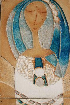 Kachle – zuzana-strakova – album na Rajčeti Ceramic Design, Clay Projects, Ceramic Pottery, Les Oeuvres, Art Sketches, Art Boards, Modern Art, Kids Room, Mosaic