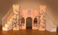 Kids castle #indoor #slide- Sadie would SO love this!!!