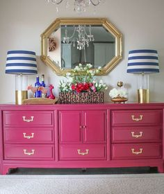 Everyone could use extra storage in the their home or office and we are never short on storage credenzas in our Used Furniture Showroom. A little love and a fresh coat of paint can make a big impact. The great thing about credenzas is that they can be used in just about any room of the house! Check our blog for examples