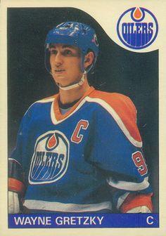 wayne gretzky 1985-86 o-pee-chee hockey card edmonton oilers